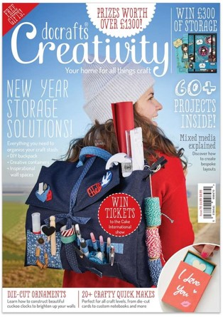 Revista Docrafts Creativity nº78 - Janeiro 2017