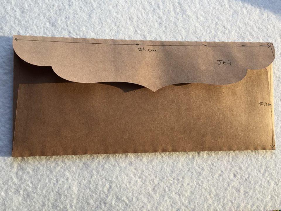 Envelope Kraft JE4