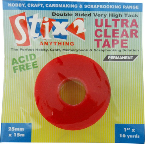 Ultra Clear Doubled Sided Tape