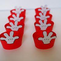 Forminhas Cupcakes Mickey