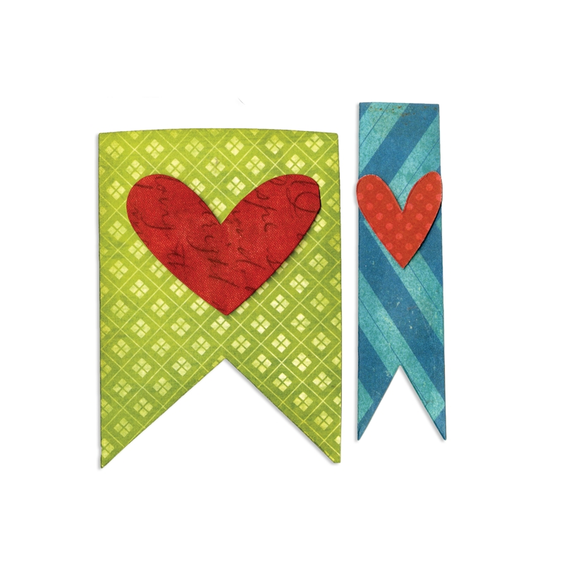 Banners & Hearts by Stephanie Ackerman