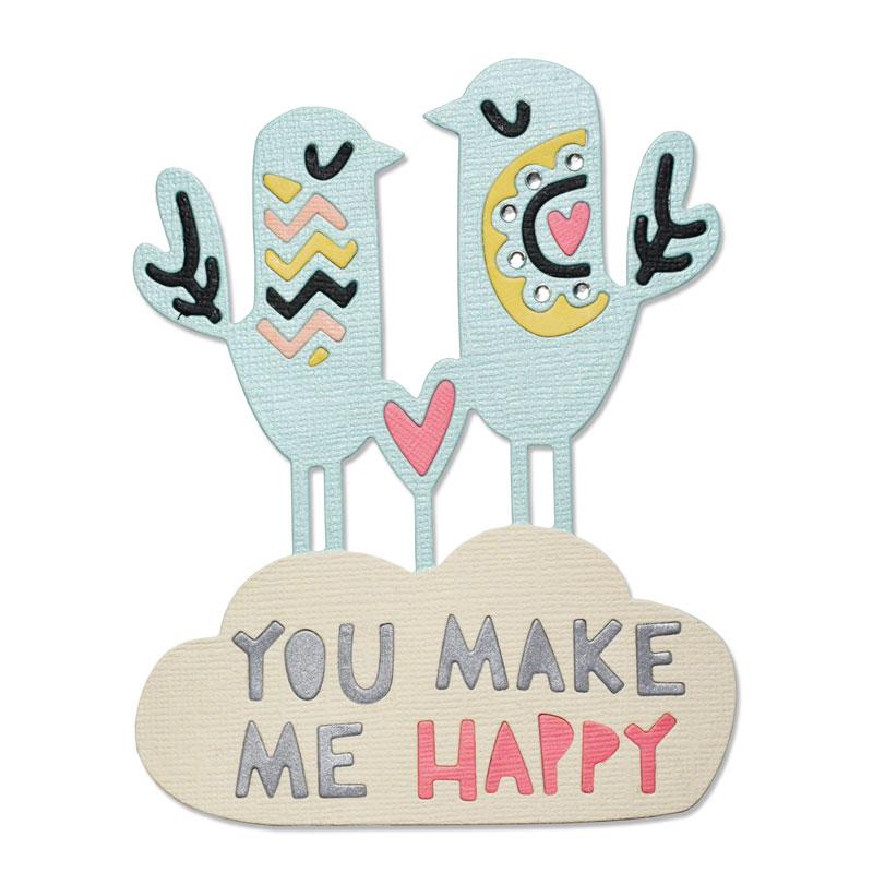 Happy Birds by Craft Asylum
