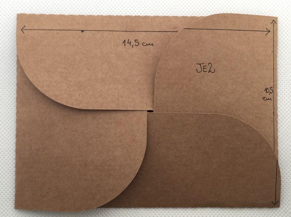 Envelope Kraft JE2