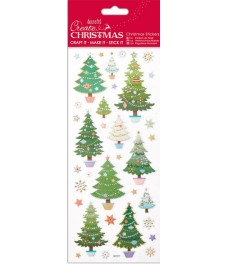 Christmas Stickers - Christmas Trees