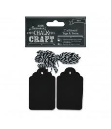 Chalkboard Tags & Twine
