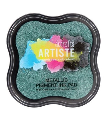 Metalic Pigment Ink Pad - EVERGREEN