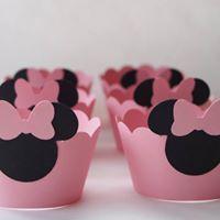 Forminhas Cupcakes Minie