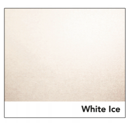 White Ice Silver Pearlescent
