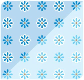 Flor Ice Azul / Azul Céu