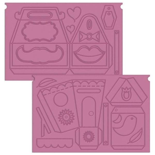 Placa de Vincar Caixas e Adereços Sweet Things para Ultimate Pro