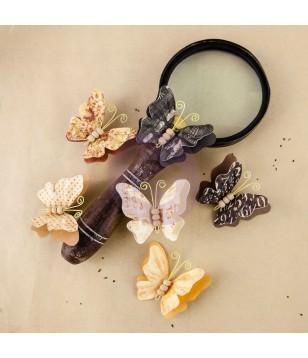 Flores de Papel The Archivist Chronicle (borboletas)