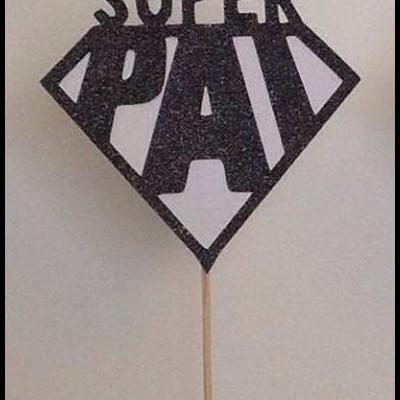 Topper SUPER PAI glitter