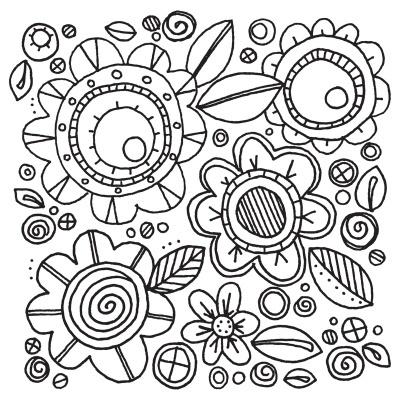 Flowers #6 by Stephanie Ackerman