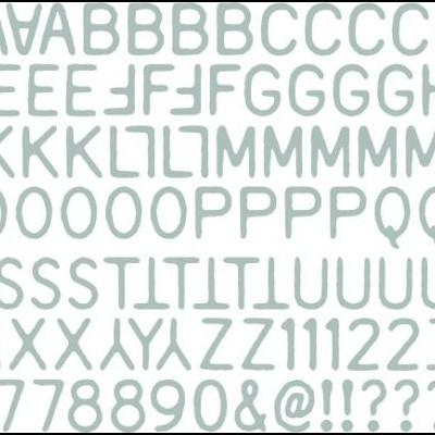 Alphanumeric Label