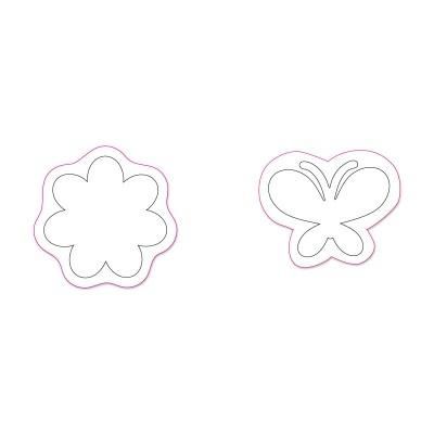 Flower & Butterfly by Stephanie Barnard