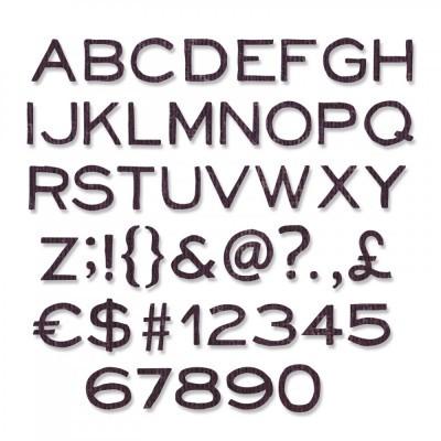 Alphanumeric, Thin (3/8 in Tall)