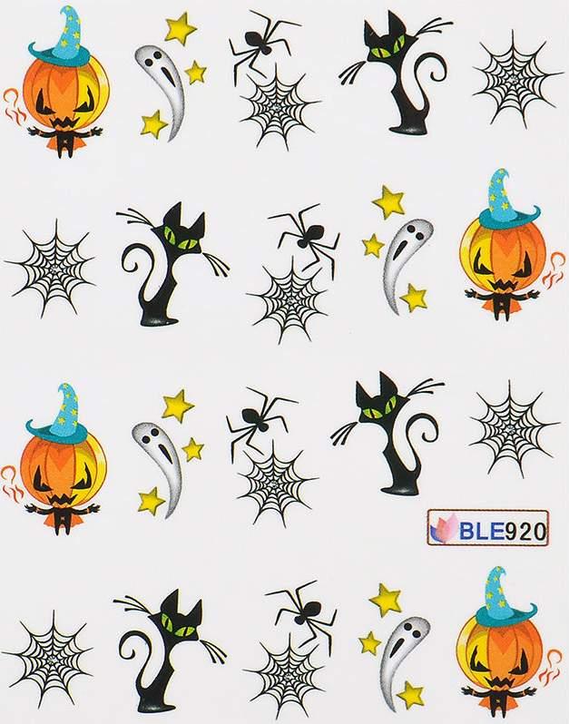 Decalques de Halloween - BLE920