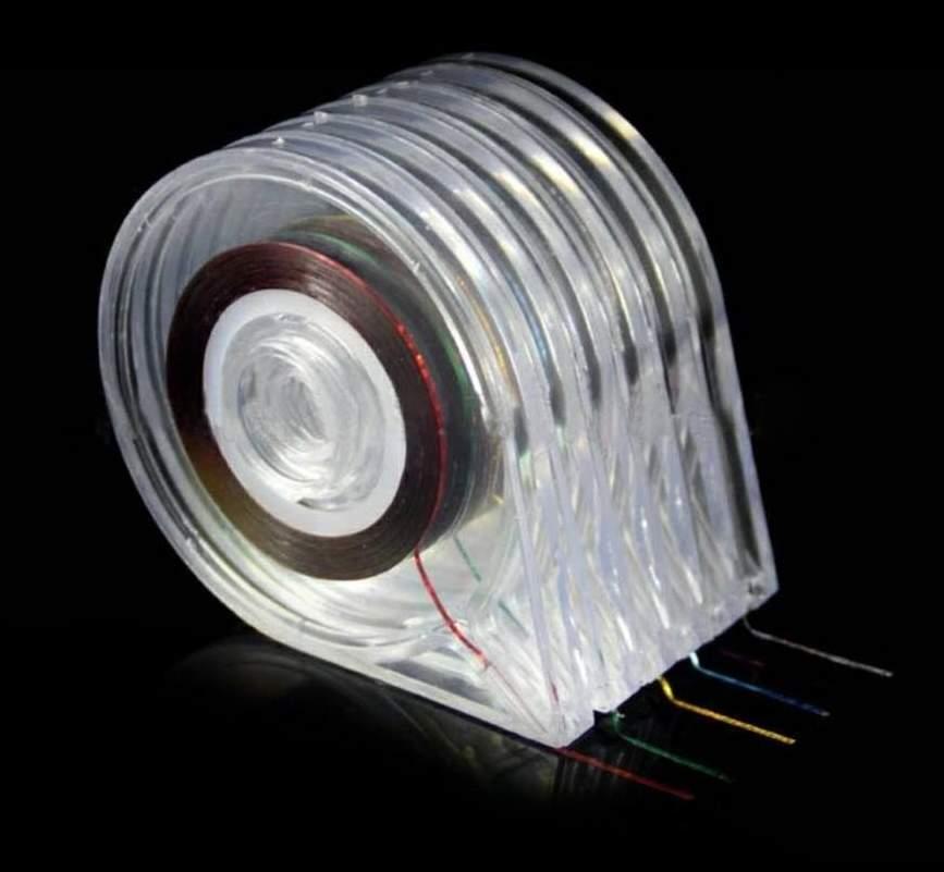 Caixa desenroladora para Fita de nail art