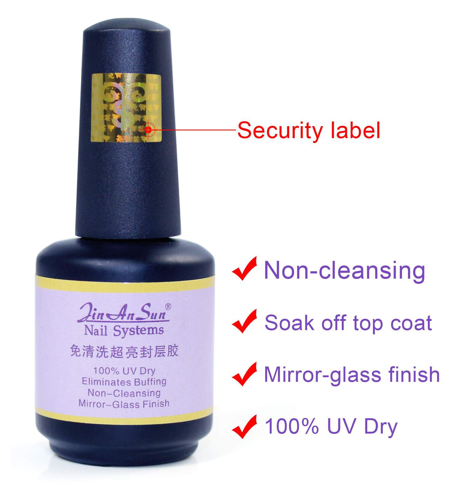 Top Coat Soak-Off Jin An Sun