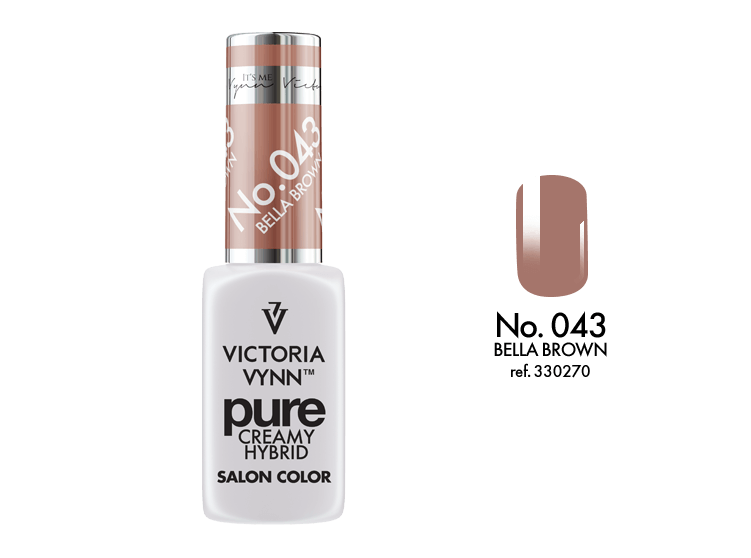 Victoria Vynn Verniz Gel Nº 043 - Bella Brown - 8 ml