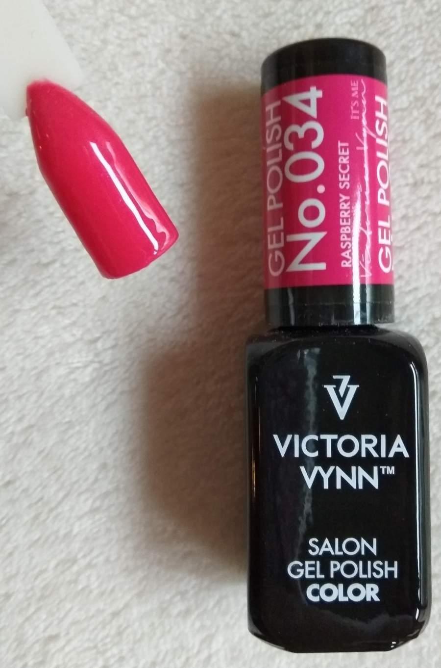 Victoria Vynn Verniz Gel Nº 034 - Raspberry Secret - 8 ml
