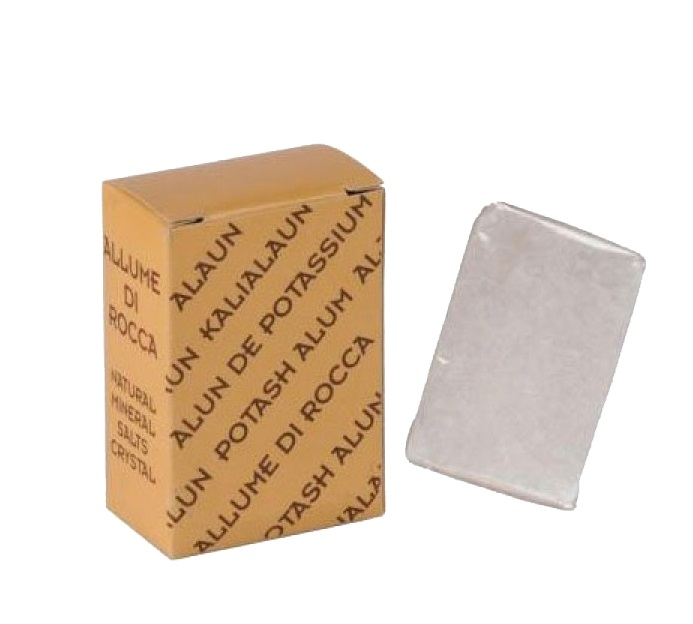Pedra Hemostática - Desinfetante e Cicatrizante