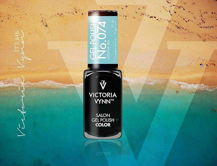 Victoria Vynn Verniz Gel Nº 074 - Holiday Sea - 8 ml