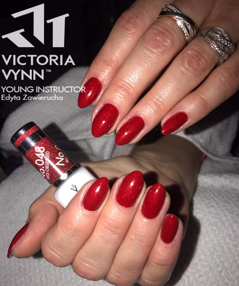 Victoria Vynn Verniz Gel Nº 048 - Red Obsessed - 8 ml