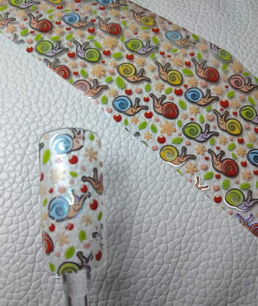 Foil Caracóis Coloridos