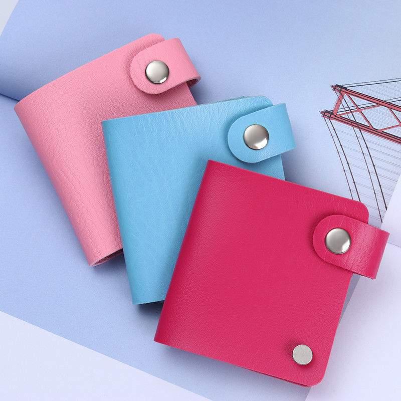 Bolsas para Placas de Carimbos Quadradas - Roxo