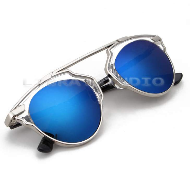 Óculos Espelhados Azuis