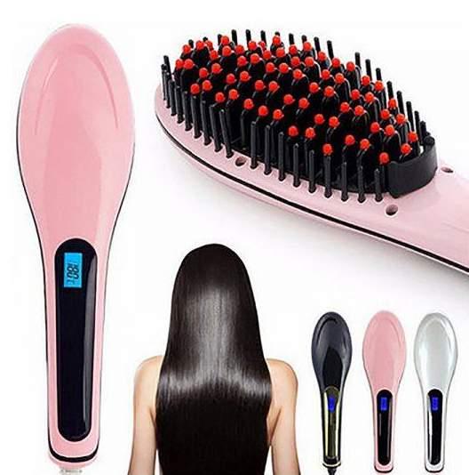 Escova Elétrica alisadora de cabelo