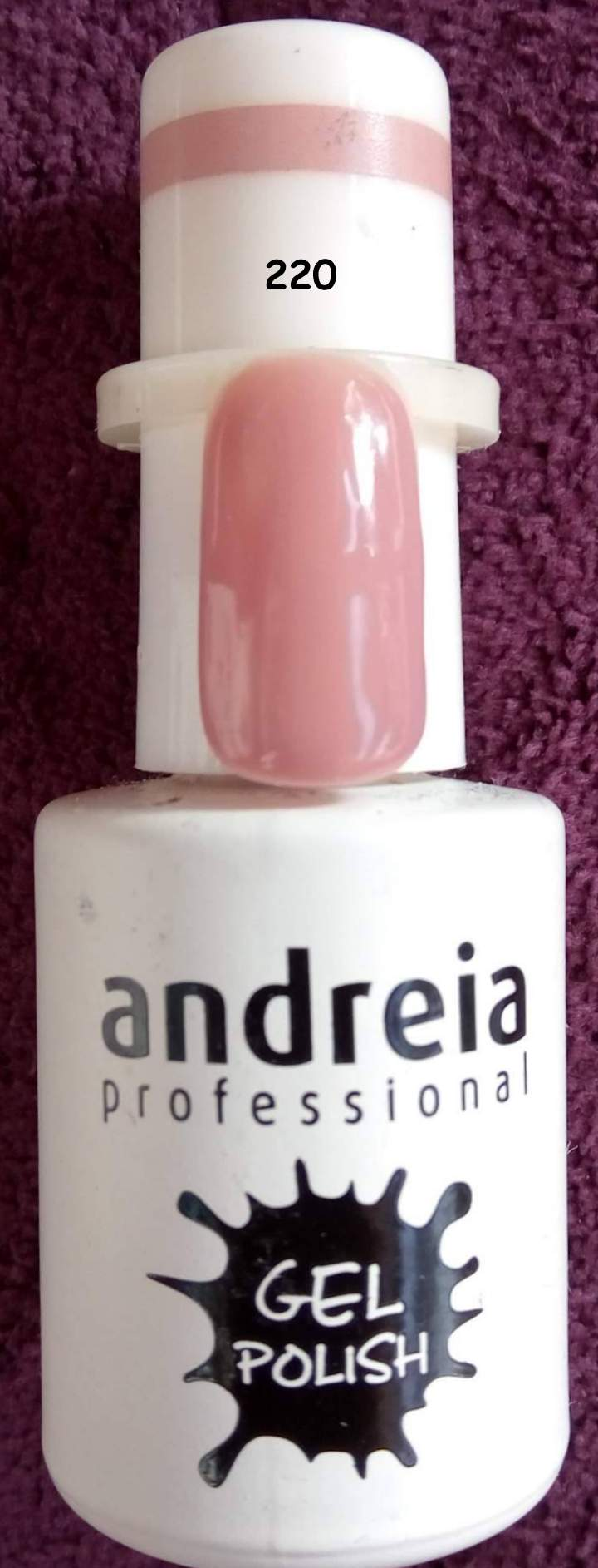 Verniz Gel Andreia 220 - Nude - 10,5 ml