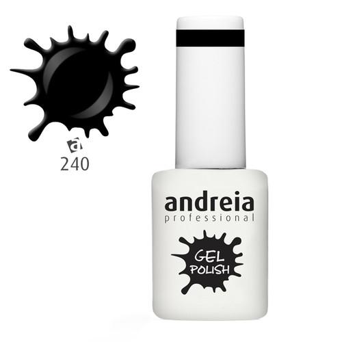 Verniz Gel Andreia 240 - Preto - 10,5 ml