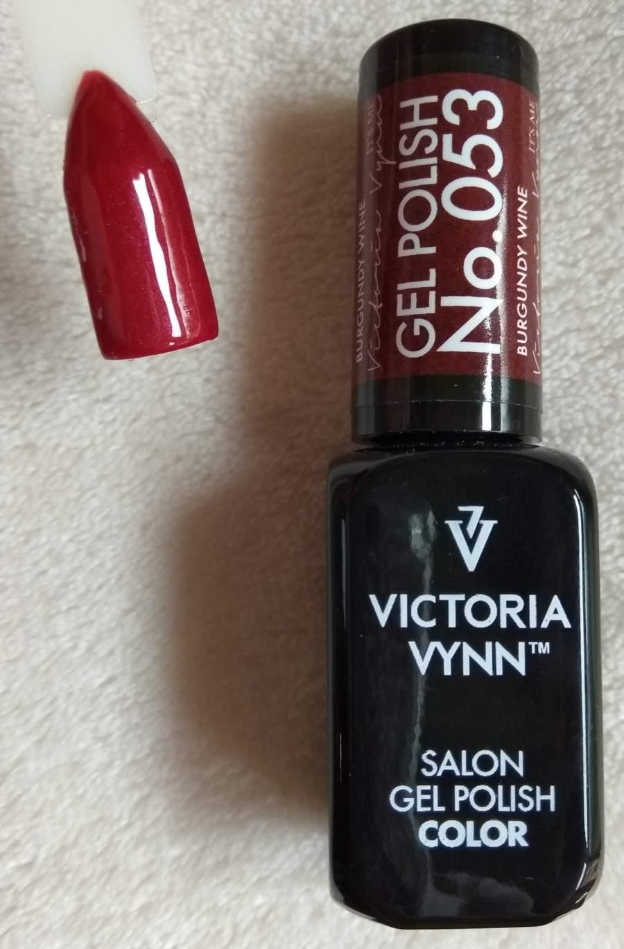 Victoria Vynn Verniz Gel Nº 053 - Burgundy Wine - 8 ml