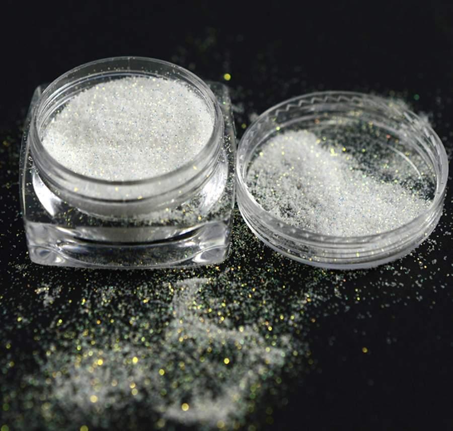 Pó de Sereia com glitter - Efeito Areia, Açucar