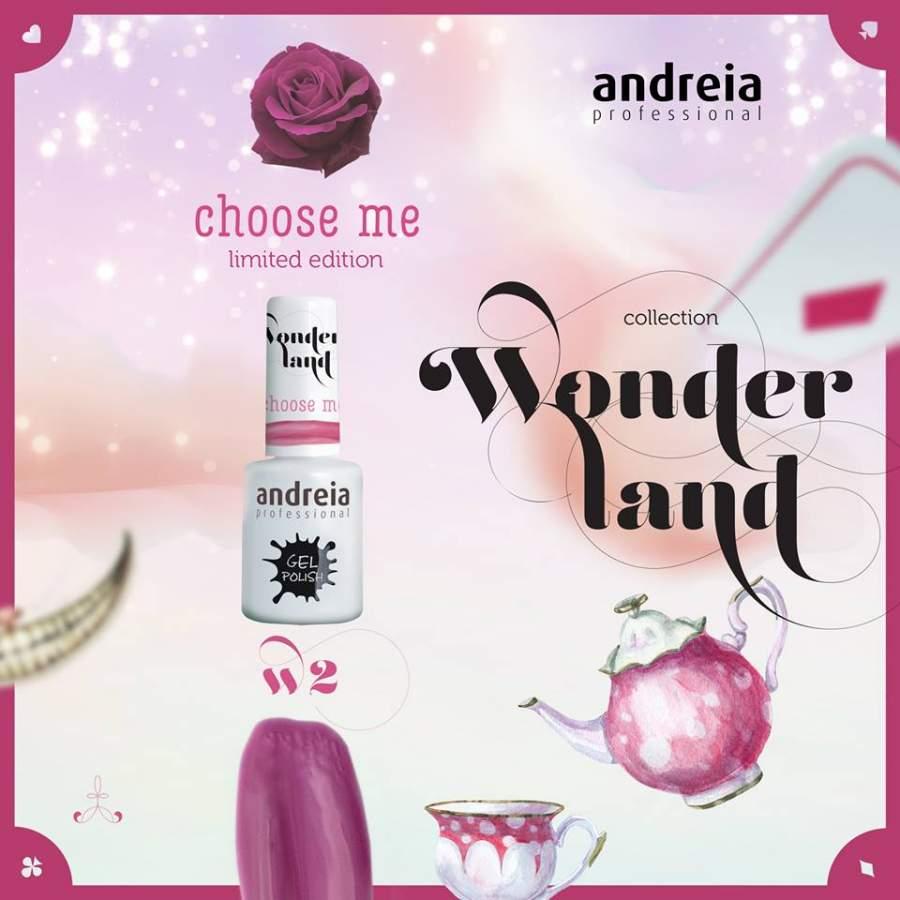 Andreia W2 - Choose Me - Coleção Wonderland