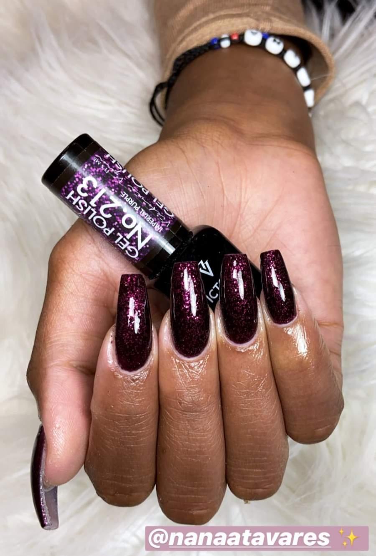 Victoria Vynn Verniz Gel Nº 213 - Imperial Purple - 8 ml