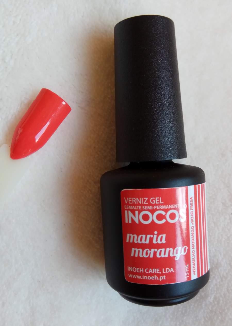 Verniz Gel Inocos Maria Morango