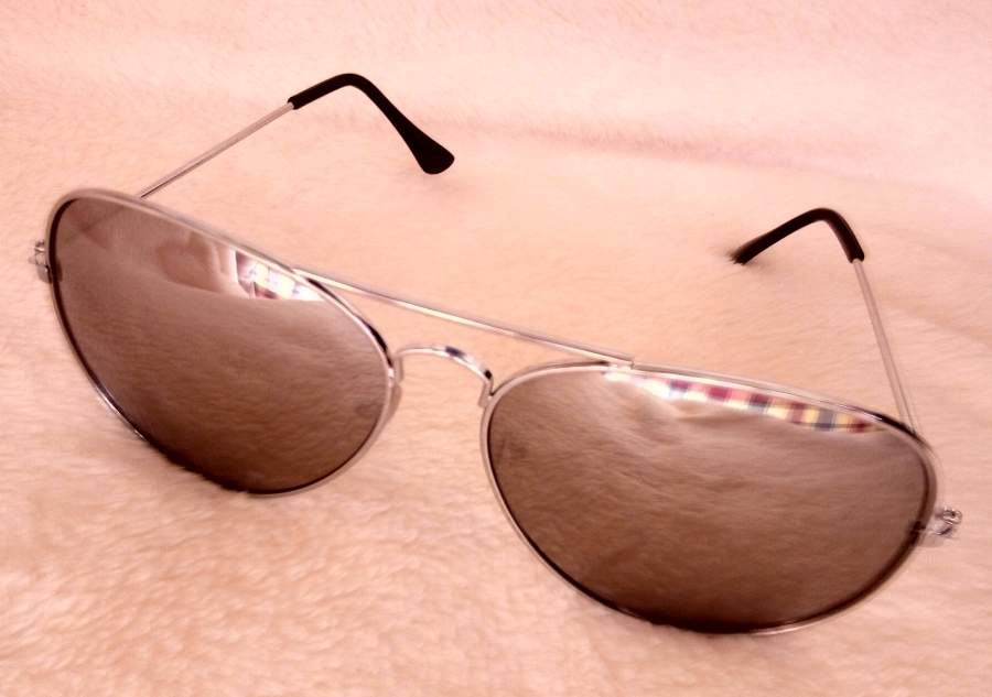 Óculos Espelhados Tipo Rayban Mulher