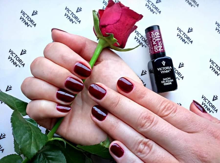 Victoria Vynn Verniz Gel Nº 119 - Risky Wine - 8 ml