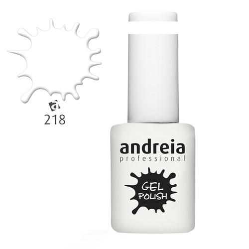 Verniz Gel Andreia 218 - Branco - 10,5 ml
