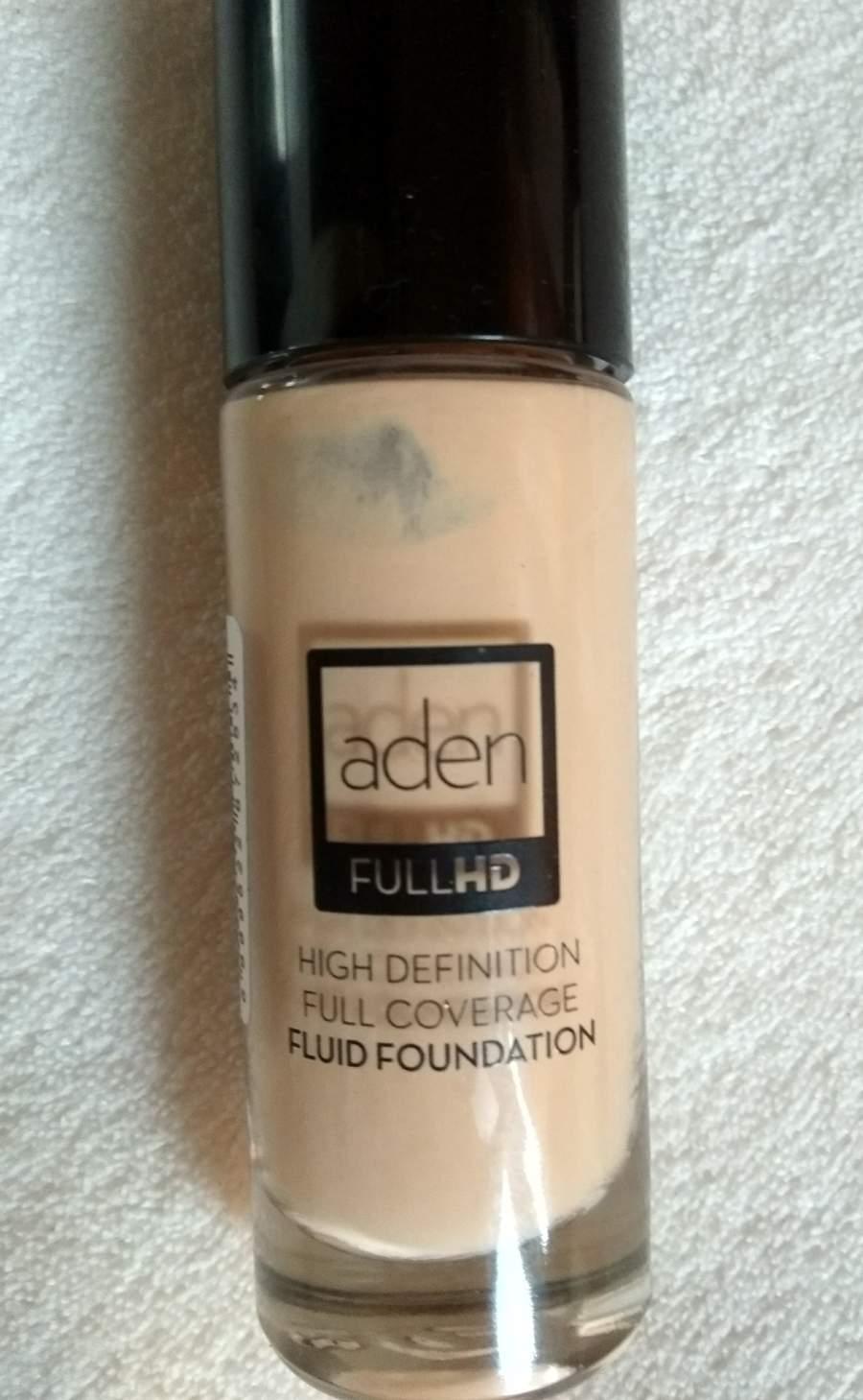 Base Full HD - Aden Cosmetics - Beige 003