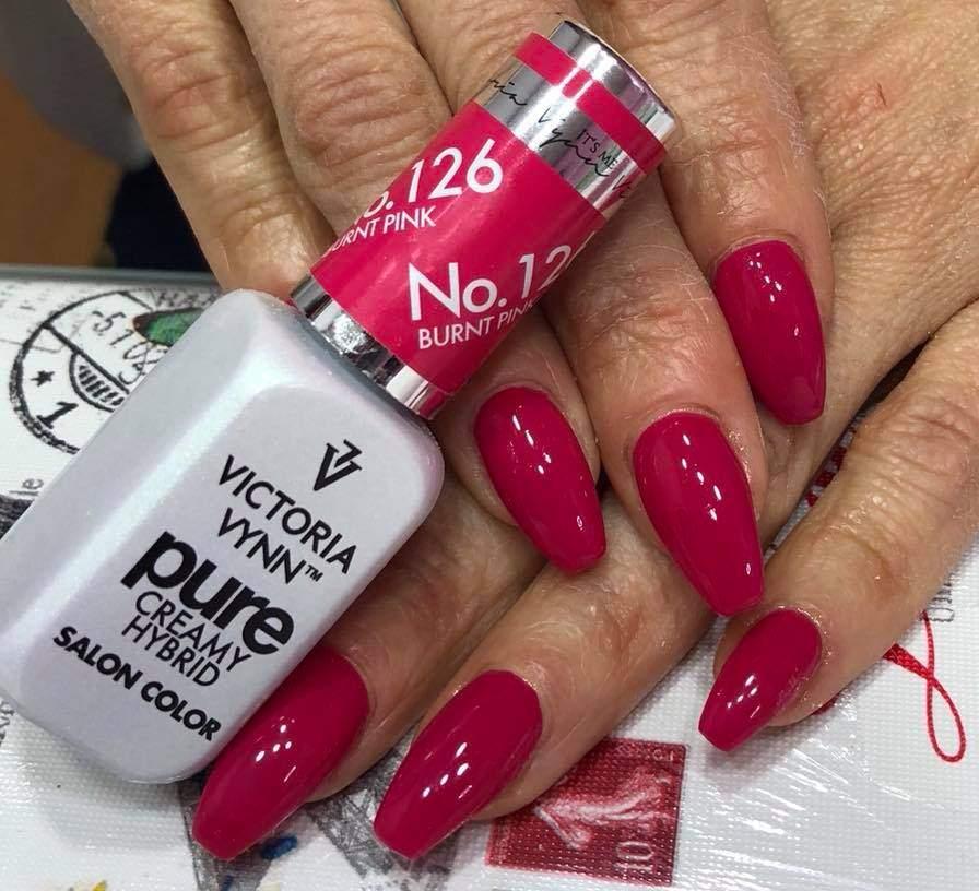Victoria Vynn Verniz Gel Nº 126 - Burnt Pink - 8 ml