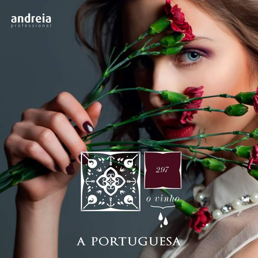 Verniz Gel Andreia 297 - O Vinho - Coleção A Portuguesa