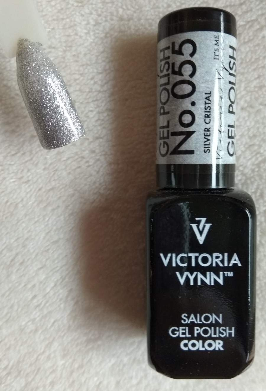 Victoria Vynn Verniz Gel Nº 055 - Silver Cristal - 8 ml