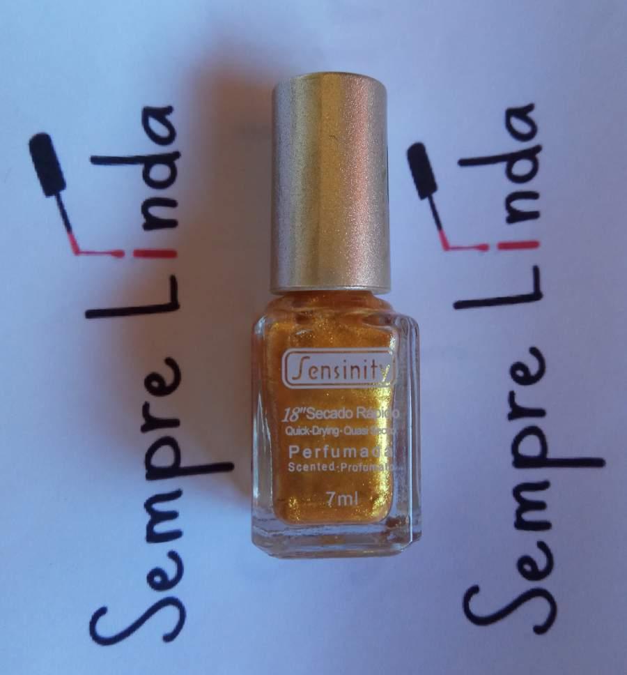 Tinta Sensinity Dourada para Carimbos
