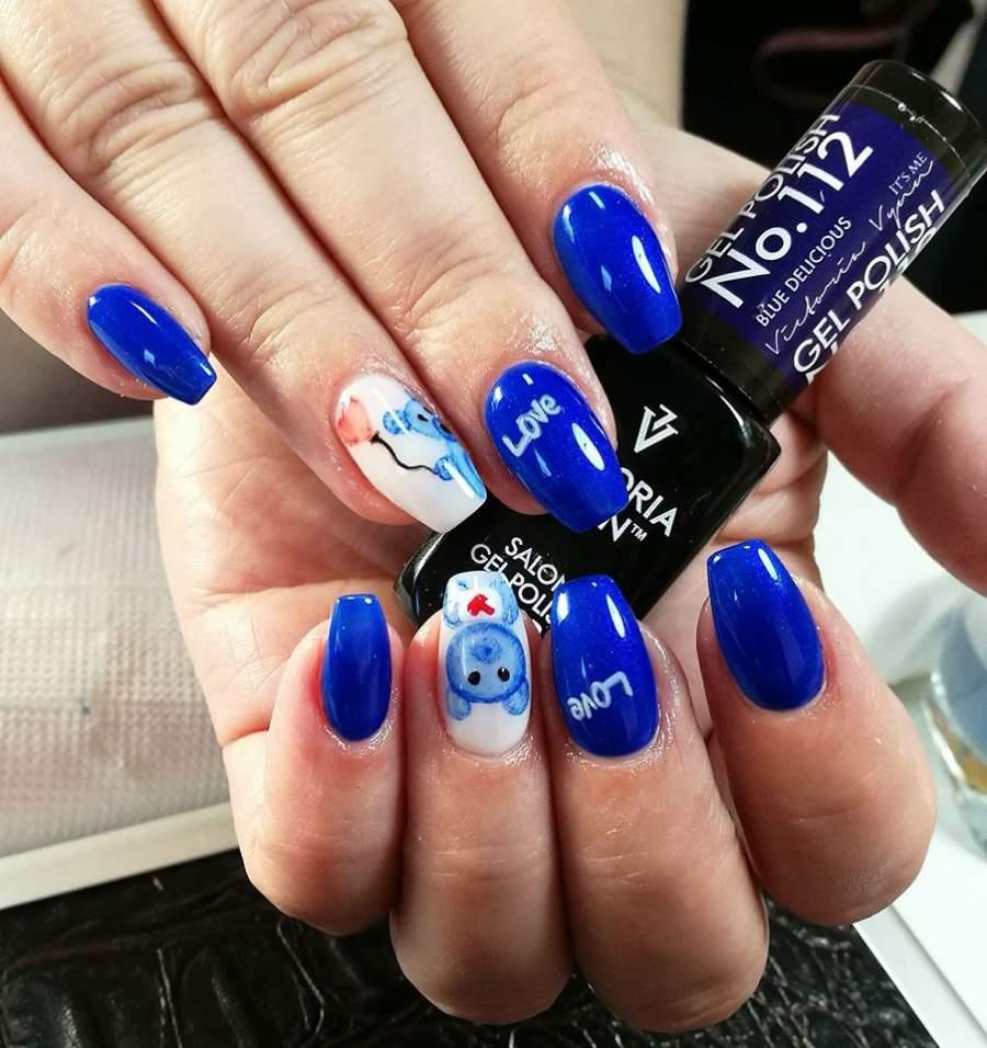 Victoria Vynn Verniz Gel Nº 112 - Blue Delicious - 8 ml