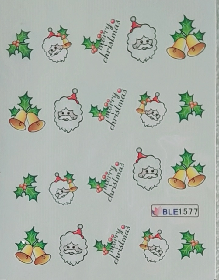 Decalques BLE1577 - Natal