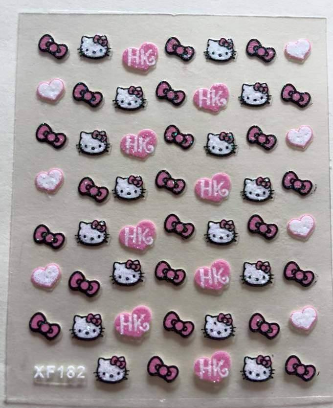Autocolantes Hello Kitty XF182